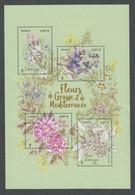 Timbres FRANCE De 2020 Thème Flore Fleurs Flowers Bloc Sous Blister Neuf ** Mnh - Unused Stamps