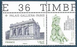 Palais Galliera BDF (2020) Neuf** - Unused Stamps