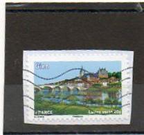 FRANCE   Lettre Verte 20 G   2013   Y&T: 840   Adhésif       Sur  Fragment Oblitéré - Sellos Autoadhesivos