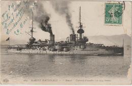 """Marine Nationale """"Bouvet""""   Cuirassé  ---(E.686) - Guerre"""
