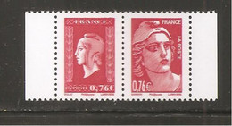 France, P4991, 4991, 4992, Neuf **, TTB, Marianne De La Libération, Marianne De Dulac, Marianne De Gandon - Unused Stamps