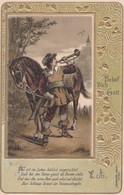 CPA GAUFREE -   Behüt Dich Gott -  Lithographie TOMPETER SERIE 1405 (lot Pat 130/1) - Fairy Tales, Popular Stories & Legends