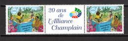 WALLIS ET FUTUNA N° 633 EN PAIRE VIGNETTE CENTRALE   NEUF SANS CHARNIERE COTE ? €     FRANCOPHONIE - Nuovi