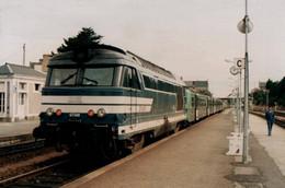 CPM - DOL - Gare - TER BB67348 Et Rame RRR ... - Edition Martret G. - Dol De Bretagne