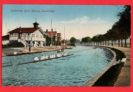 SPORT ROWING  CAMBRIDGE   TEAM ROWING +   UNIVERSITY BOAT HOUSES  Pu 1926 - Rowing