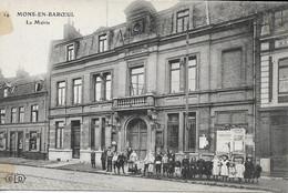 CARTE POSTALE MONS-EN-BAROEUL - LA MAIRIE - Andere Gemeenten