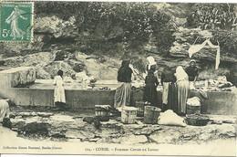 20 B CORSE FEMMES AU LAVOIR EDITEUR DAMIANI  ANIMATION 1908 A VOIR - Andere Gemeenten