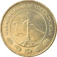 Monnaie, Turkmanistan, 20 Tenge, 2009, TTB, Laiton, KM:99 - Turkmenistan