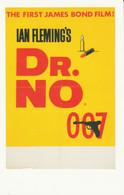 Postcard - James Bond - U.K. Advanced  Film Poster For Dr. No.1962 -  New - Andere
