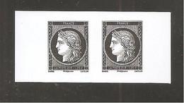 """France, P5359, 5359, Paire, Neuf **, TTB, Cérès, Marianne L'engagée, Carnet """"Philatélie L'affranchissement"""" - Unused Stamps"""