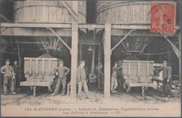 Saint Etienne , Les Cribles à Charbons , Animée - Saint Etienne