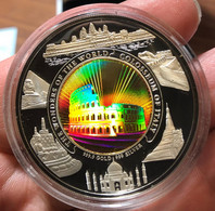 CAMBODIA Cambogia 10000 RIELS Proof 2006/2007 COLOSSEUM WONDERS OF THE WORLD HOLOGRAM 3000 Pcs Minted - Cambodia