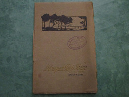 LE TOUQUET PARIS-PLAGE - Description Des Loisirs (8 Pages Et Plan) - Le Touquet