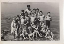 Group Of Boys At Beach - Portraits