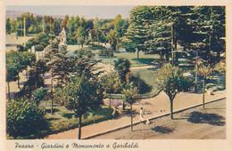 2c.725.  PESARO - Giardini E Monumento A Garibaldi - Pesaro