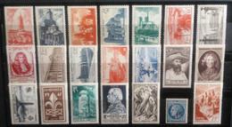 Francia: Año. 1947 - Completo. 21/Val. - Neufs