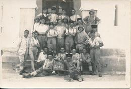 1 Petite Photo Originale (6 X 9 Cm) - TUNISIE - BIZERTE - Spahis - Tirailleurs ? (1928) (BP) - Guerra, Militares