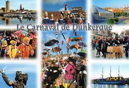 CPM Dunkerque 8 Vues - Carnaval Tour Du Reuze Jean Bart Université Voilier Duchesse Anne NEUVE - Dunkerque