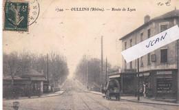 7 - OULLINS -  Route De Lyon - Une Charrette - 311220 - Oullins
