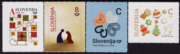 Slovenia - 2020 - Christmas And New Year - Mint Self-adhesive Stamp Set - Slovenia