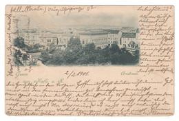 Ansichtskarte , Gruss Aus Halle , 1901 Nach Deutsch-Ostafrika , Bahnpoststempel - Non Classificati