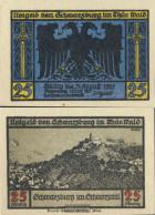 Schwarzburg Notgeld: 1208.2 Notgeldscheine The City Schwarzburg/Thuringia Uncirculated 1922 25 Pfennig 1. Schwarzburg - Andere