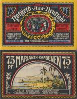 Neustadt Notgeld: 961.2 Picture 4 Marianas/Carolines Uncirculated 1922 75 Pfennig Neustadt Office - Andere