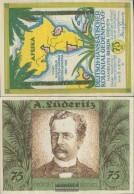 Berlin Notgeld: 88.3 Picture 4 A. Lüderitz Notgeld Uncirculated 1921 75 Pfennig Berlin German.-Hanseatisch - Andere