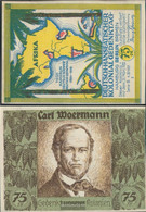 Berlin Notgeld: 88.3 Picture 2 Carl Woermann Notgeld Uncirculated 1921 75 Pfennig Berlin German.-Hanseatisch - Andere
