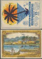 Berlin Notgeld: 88.1 Picture 6 Cameroon Notgeld Of German.-hanseatic Uncirculated 1921 75 Pfennig Berlin German.-Hanseat - Andere