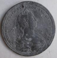 Autriche Médaille Mariage Franz Et Maria Theresa Par Tesiner - Royal / Of Nobility