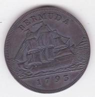 Bermudes /Bermuda 1 Penny 1793, George III. 11,7g – 31 Mm, Faux ?? - Bermuda