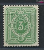 Deutsches Reich 39II B Geprüft Postfrisch 1880 Krone/Adler (9476634 - Nuevos