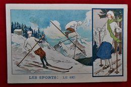Chromo Format CP Solution Pautauberge/ Les Sports - Ski - Autres