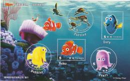 Disney / Pixar - Nemo - Turtles - Dory - Pearl - Bubbles - Blocks & Sheetlets