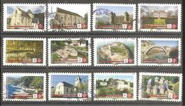 FRANCE 2019 Y TN°1765/1776 Série Complète Oblitérée Cachet Rond Mission Stéphane BERN - Sellos Autoadhesivos