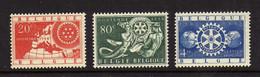 Belgique (1954)  - Rotary International - Neufs**  - MNH - Nuovi