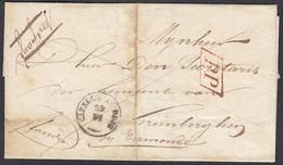 Belgique 1845 - Précurseur Type 18 Avec Marque PPde Capelle Au Bois Vers Termonde. Taxé Au Dos......(DD) DC-9613 - Altri