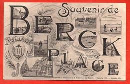 Souvenir De BERCK - PLAGE. - Berck