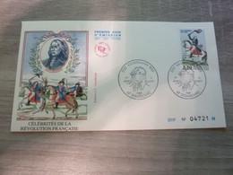 STRASBOURG - Bas-Rhin - Kellerman - Célébrités De La Révolution Française - Editions J.F. Courbevoie - Année 1989 - - Used Stamps