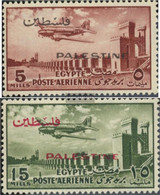 Egypt - Cast. Palestine 88-89 (complete Issue) Unmounted Mint / Never Hinged 1955 Airmail - Sin Clasificación