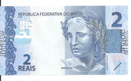 BRESIL 2 REAIS 2010 UNC  P 252 A - Brasile