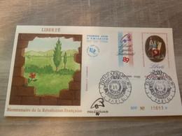 PARIS - LIBERTE - EDITIONS J.F. COURBEVOIE - ANNEE 1989 - - Oblitérés