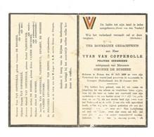 Doodsprentje Oorlogslachtoffer Deinze + Commando Erzingen 1945 - Andachtsbilder