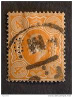 "GRAN BRETAGNA -1909- ""Effigie Edoardo VII°"" P. 4 US° (descrizione) - Gebraucht"