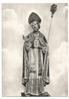 E3973 Statua Di San Tommaso Arcivescovo Di Canterbury Adorata Nel Santuario Di Montedinove (Ascoli Piceno) - Andere Städte