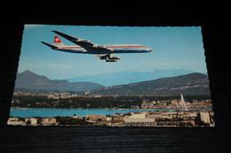 21220-               GENEVE, DOUGLAS DC 8 AU DESSUS DE LA VILLE - 1946-....: Era Moderna