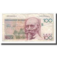 Billet, Belgique, 100 Francs, Undated (1982-94), KM:142a, TB+ - 100 Francs