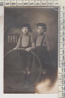 Giochi Bambini Con Cerchio F.p. No Vg - Escenas & Paisajes
