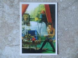 """CP Publicitaire  Emission TV """" Aujourd'hui Madame """"  Un Diffusion De Vidéo Art à Lyon 2007 Photo Cathy Franquin - Andere"""